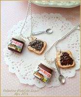Nutella fimo I love YOU ! by Valentina-PinkCute