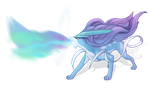 Suicune by AuroraLion