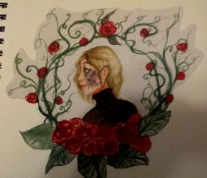 Red Roses by Death2Eden