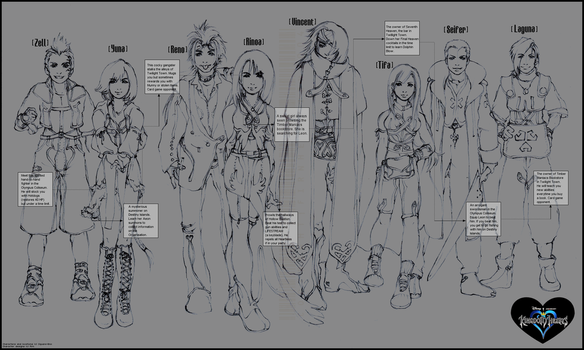 KH lineup by Firnheledien