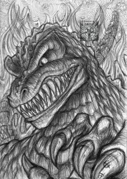 Purposeful Grimace by TheDaveL