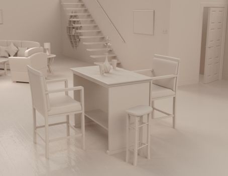 Dining Area - Clay by john-reilly