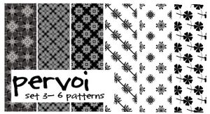 Pattern Set 3 by pervoi
