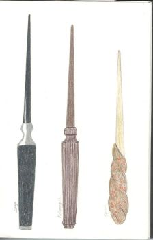 Harry Potter wands 2 by FlameoftheWest7