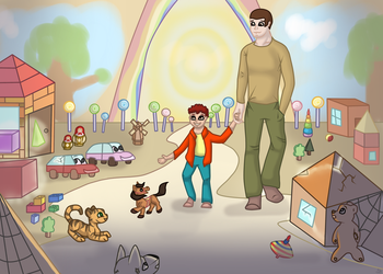 Toybox`s New Life [Contest Entry + Collab] by Funny-arts