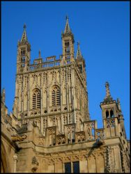 Gloucester Cathedral in theSun by smokerette