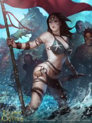 Female Fighter of The Sea by LASAHIDO