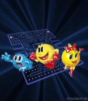 Pac-Man Collection Label Final by Atariboy2600