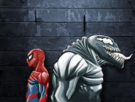 Spiderman Venom - Nemeses by Paterack