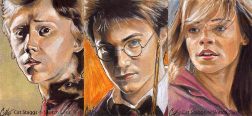 Harry Potter by gattadonna