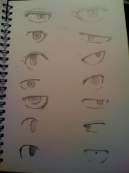 ToG characters eyes by Aisco