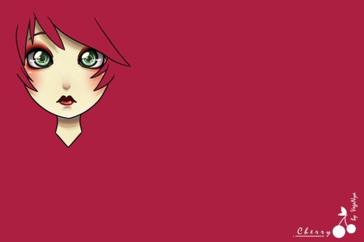 Wallpaper Cherry by VegaNya