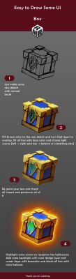 [UI game] How to Draw a Box by Ruanmingren