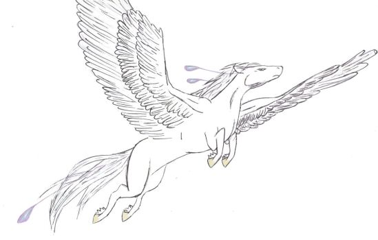Pegasus- Inked by Shameless-Sacrifice