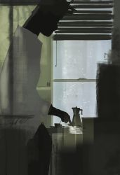 Some mornings are just like a Johnny Cash song. by PascalCampion