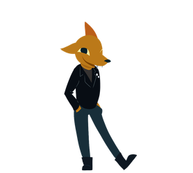 Night In The Woods - Gregg by Mararia0w0