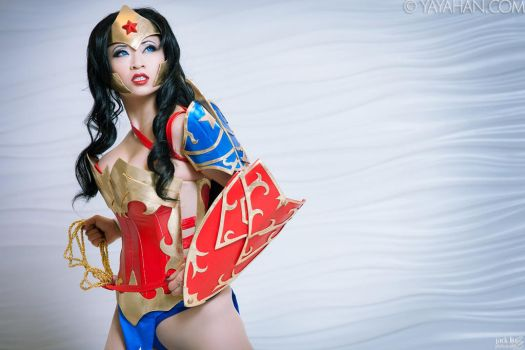 Ame-Comi Wonder Woman - Lasso of Truth by yayacosplay