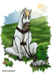 - TANGLED's Maximus and Pascal - by Aphrodian