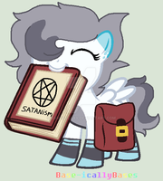 Hey look at this cool book! by RaveGalaxy
