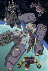 Stryka and the Combacticons by Wegons