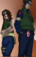 Asuma and Kurenai by AhiramSu
