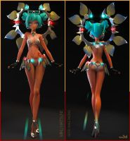 Sepang Good Smile Racing Miku by KID3D