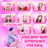 SNSD Beep Beep Screencaps PNG Pack by HanaBell1