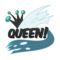 Queen Sticker by e-49