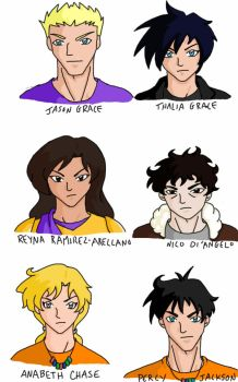 Percy Jackson  by Marle1010