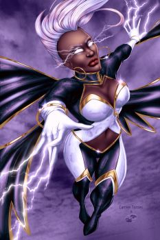 Carmen Torrres's Storm - Colors by TracyWong