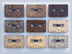 Wood Cassette Tapes Cinema 4d V-Ray by botshow