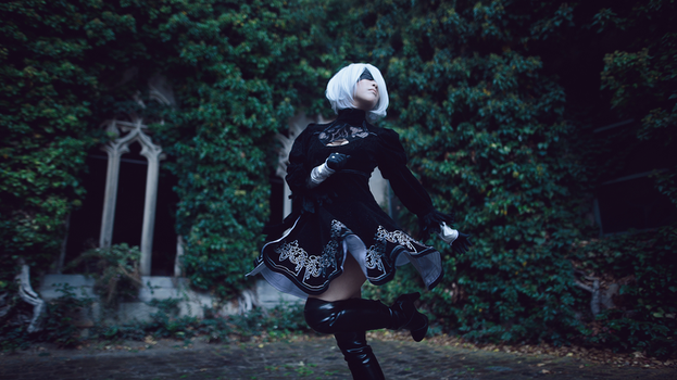 NieR: Automata - Dance with me by downpourin