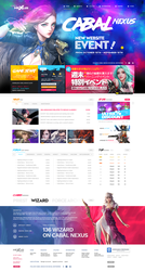 Cabal Nexus - First Webdesign by ShinDatenshi