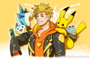 Team Instinct by BoneyardScribe