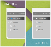 Quick Access Icon Changer by niivu