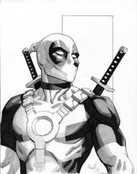Deadpool up for auction by ReillyBrown