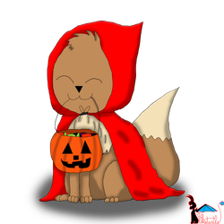 :AT: Little Red Eevee Hood by Pikaturtle