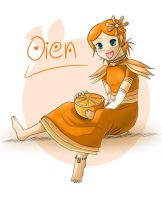 Oien and the Orange by senshuu