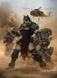 Rifts Psi Hounds and Psi Stalker the DogBoys by ChuckWalton