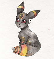 Umbreon by Rituhell