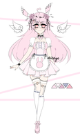 Closed Pastel Bunny Adopt #3 by shisayo