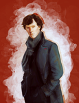 Sherlock: The World's Only Consulting Detective by vambrace