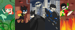 Batman bookmarks by OMGProductions