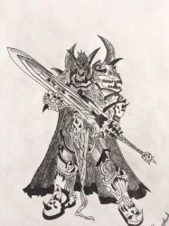 World Of Warcraft Orc Death Knight by MillionGames