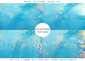 Blue Texture Pack #3 by jocelynnes