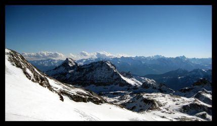 Cervinia mountains by dileno