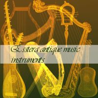 antique music instruments by esstera