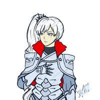 DarkKnight!Weiss by ehrehnii