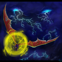 Spyro the electrical storm by Nebula-the-Dark