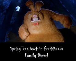 .:It's SpringTrap from Fredd bears family Diner:. by Trisha1024